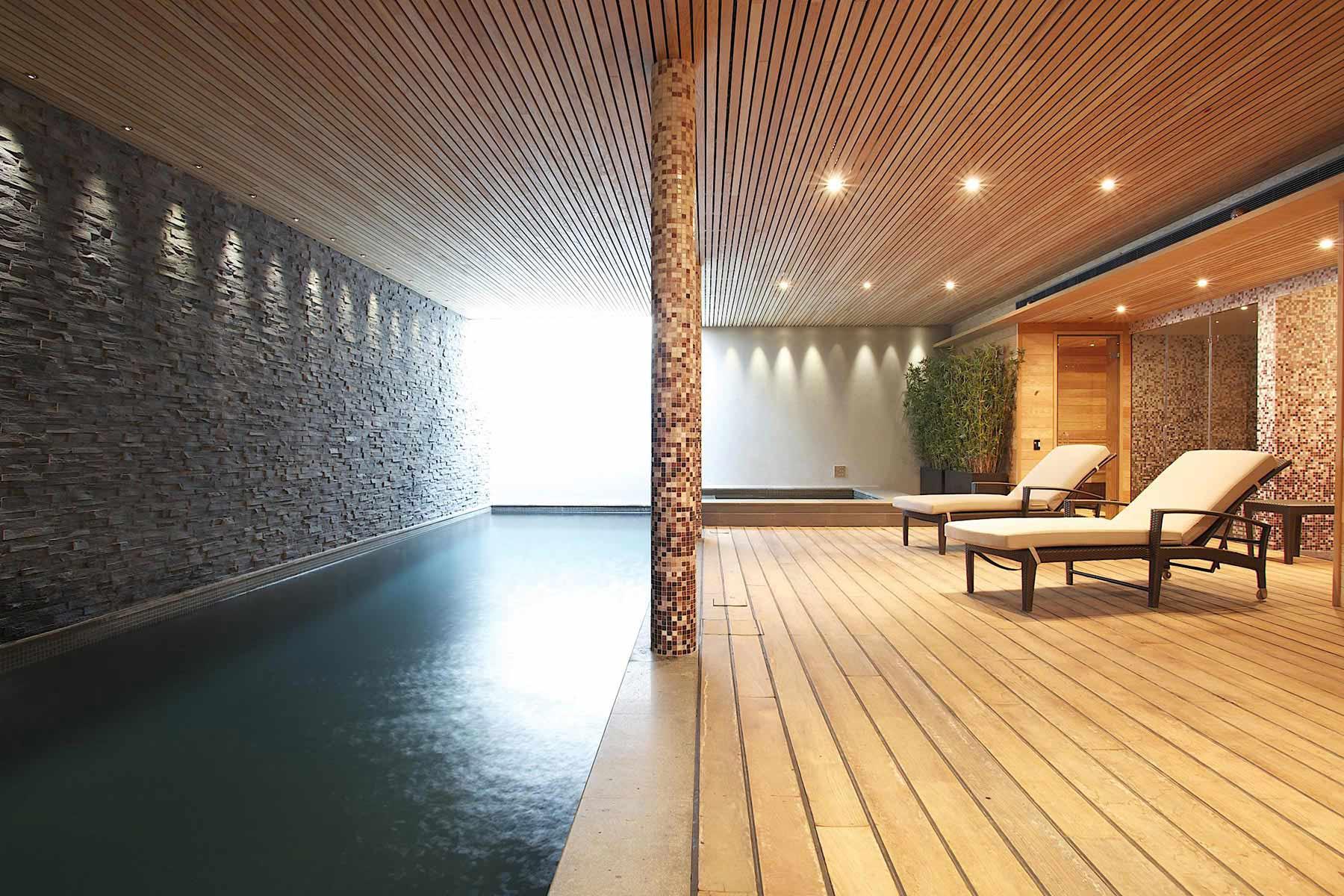 温布尔顿的室内游泳池和水疗中心